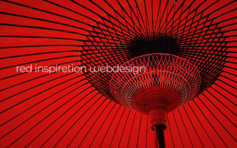 赤(レッド:Red)で魅了するWEBデザイン 90+