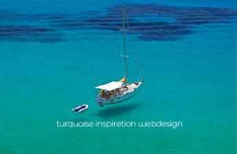 翠/碧(あおみどり:Turquoise)で魅了するWEBデザイン