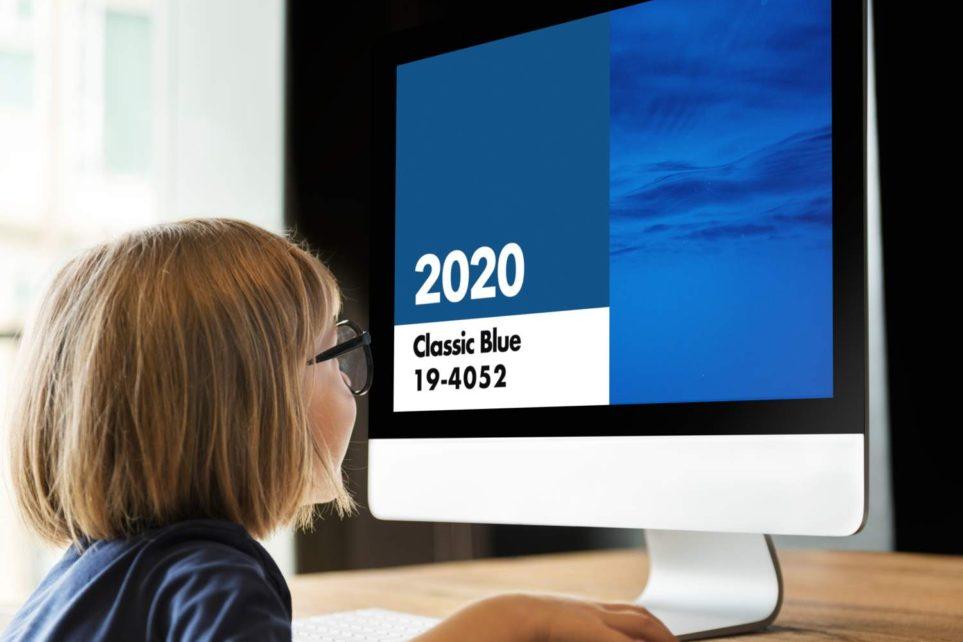 PANTONEが選ぶトレンドカラー 2020 クラシック・ブルー